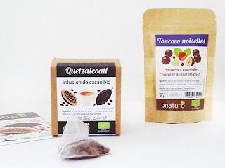 Infusion de cacao Quelzalcoatl bio - Onaturo