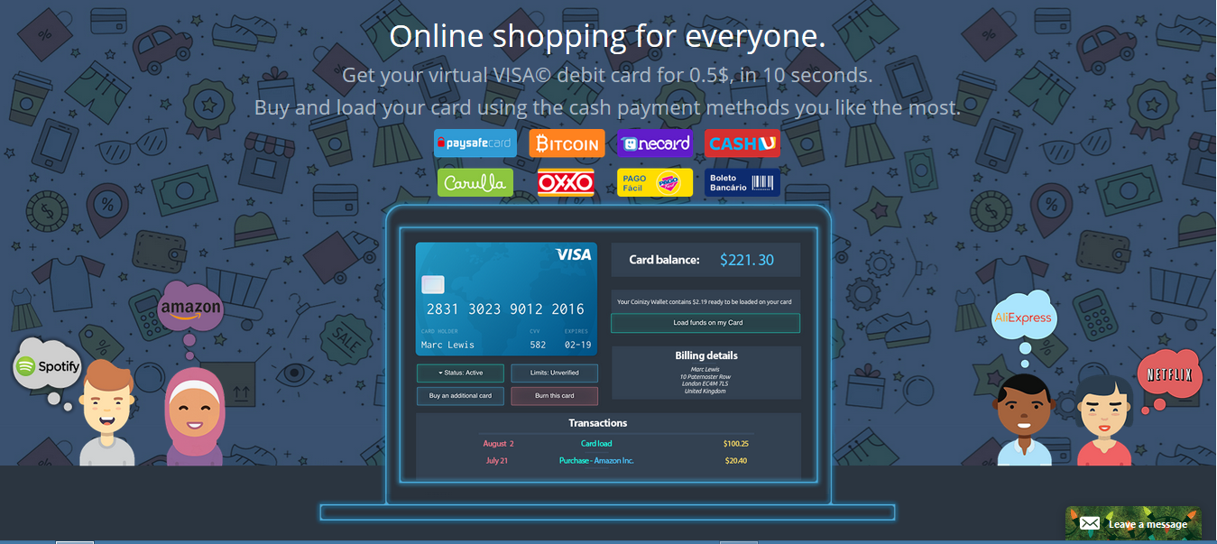 These Virtual Credit Cards Works Same As Traditional Visa And Credit Cards  To Make Payments