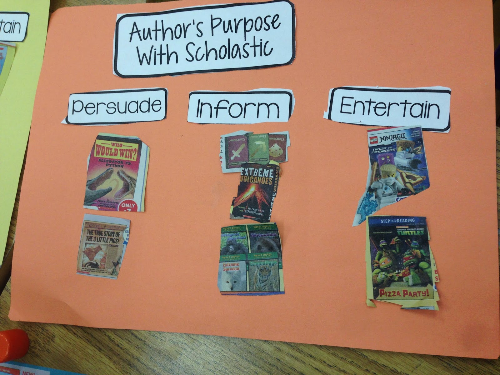 Author S Purpose With Scholastic
