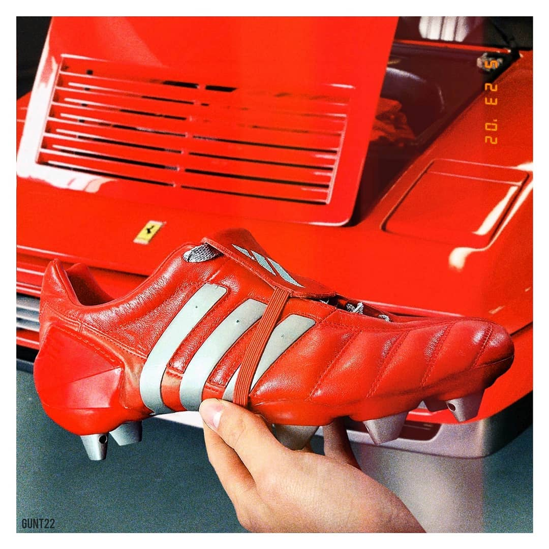 95b8b30e5 Adidas To Release Red  Predator Mania 2002 Remake Boots in 2019 ...