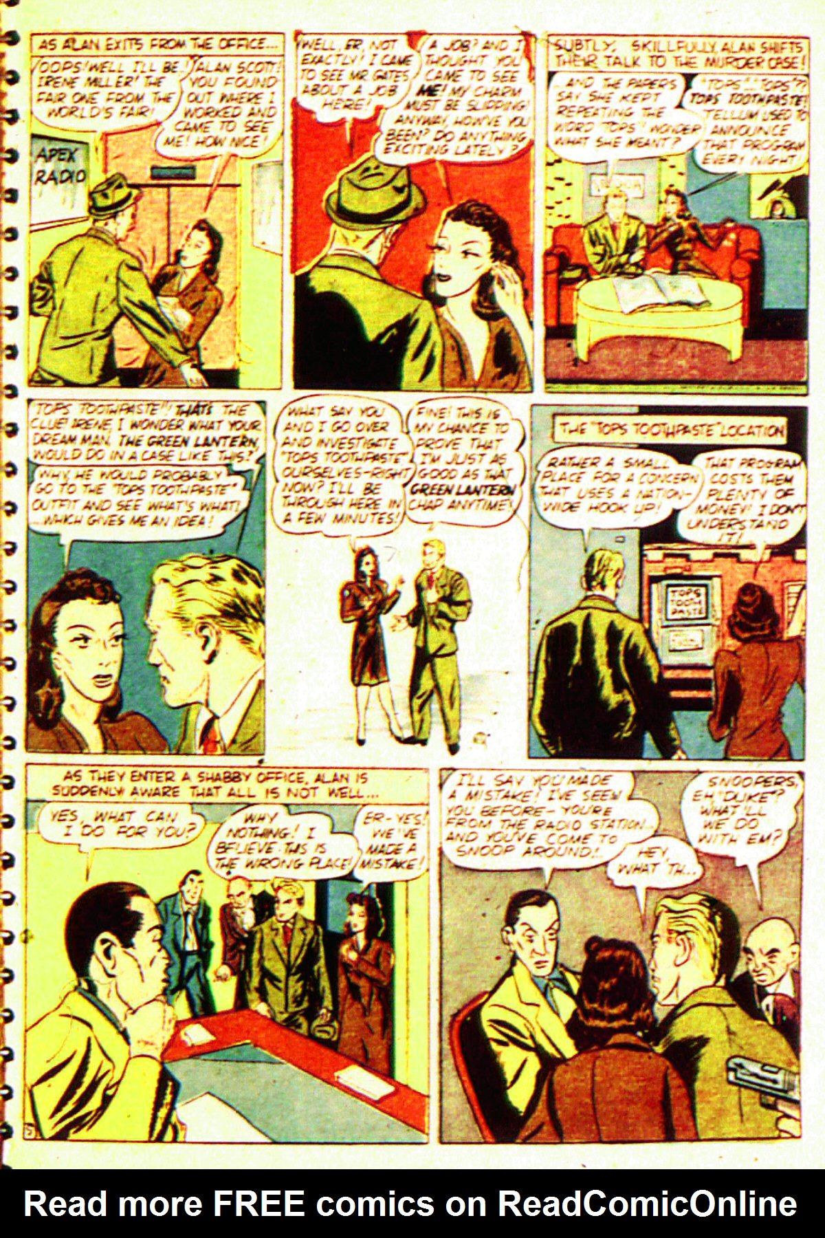 Read online All-American Comics (1939) comic -  Issue #20 - 8