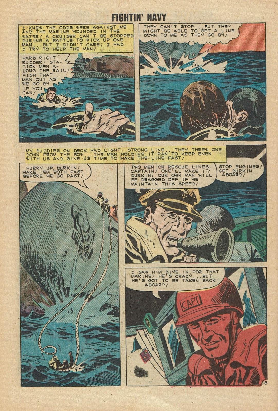 Read online Fightin' Navy comic -  Issue #96 - 18