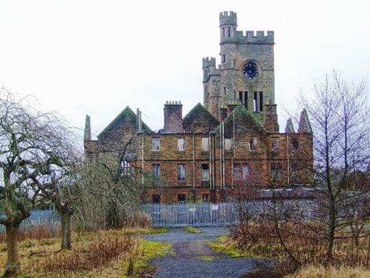 Ruins of Hartwood mental hospital
