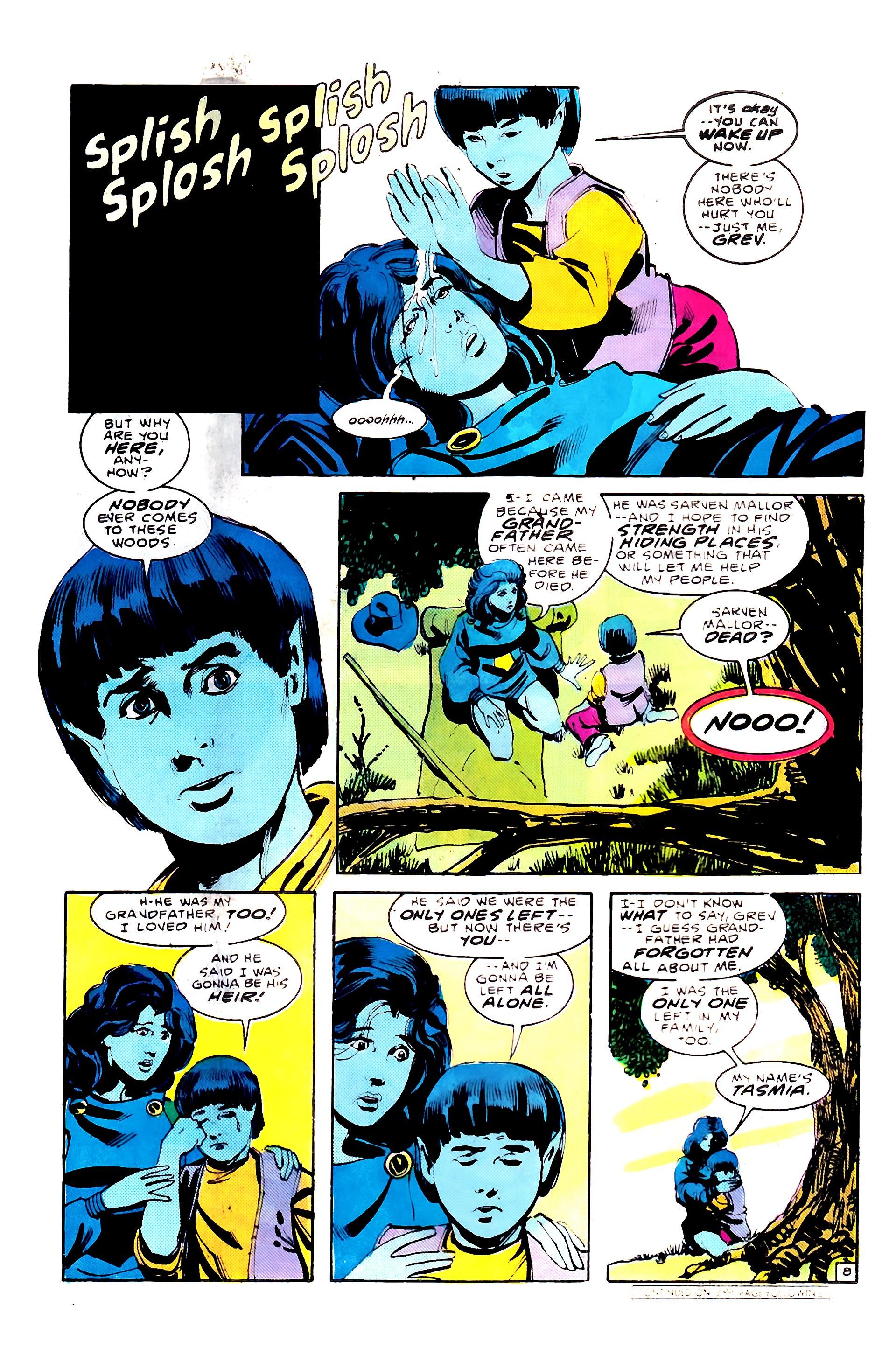 Read online Secret Origins (1986) comic -  Issue #8 - 12