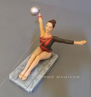 modellino ragazza idea regalo fidanzata ballerina ginnastica artistica orme magiche