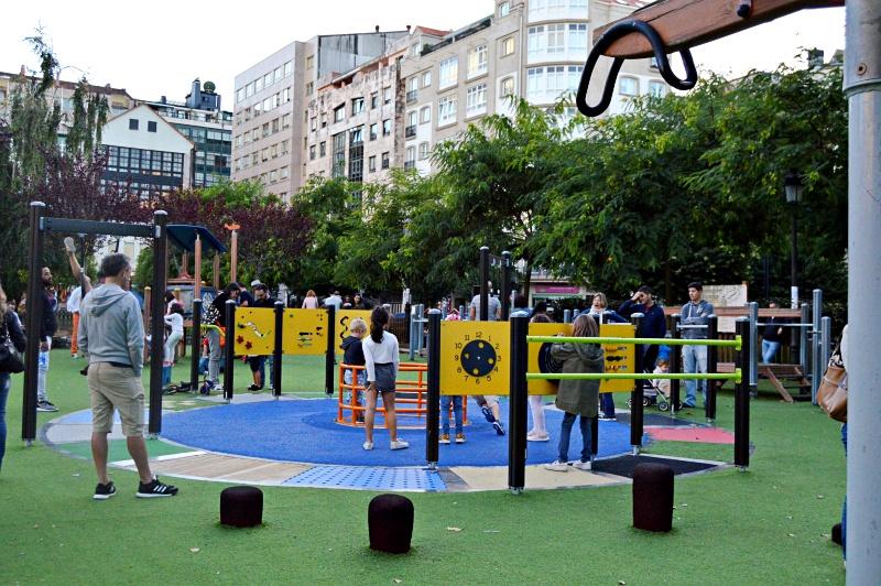 ocio al aire libre Pontevedra para niños