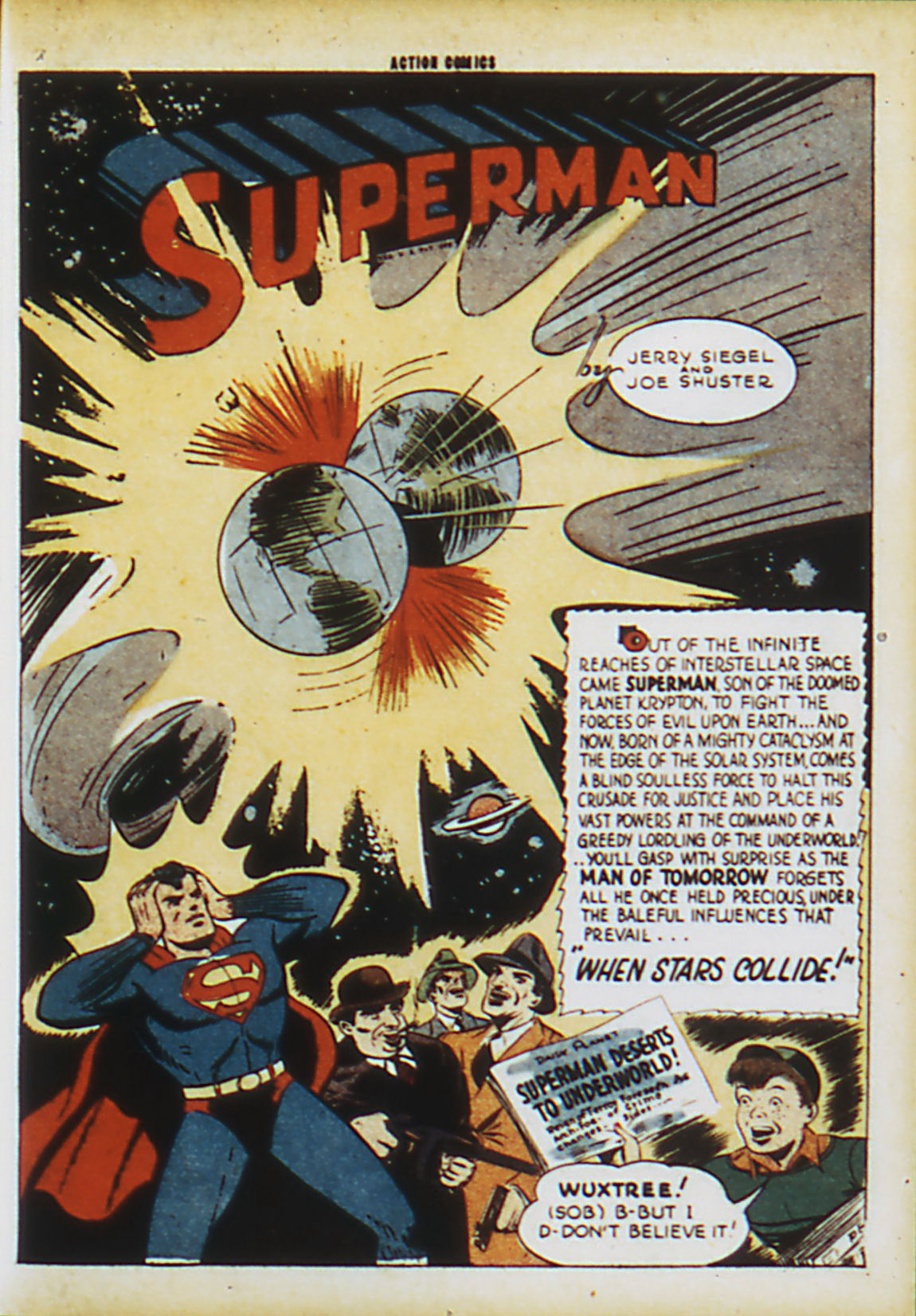 Read online Action Comics (1938) comic -  Issue #63 - 4
