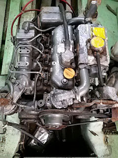 3JH30A, 3JH25A, Yanmar Boat Engine, Inboard Engine, gearbox, rescue boat engine, speed boat engine, ship yard, second hand, used engine for boat