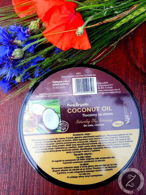 olej kokosowy do włosów niskoporowatych