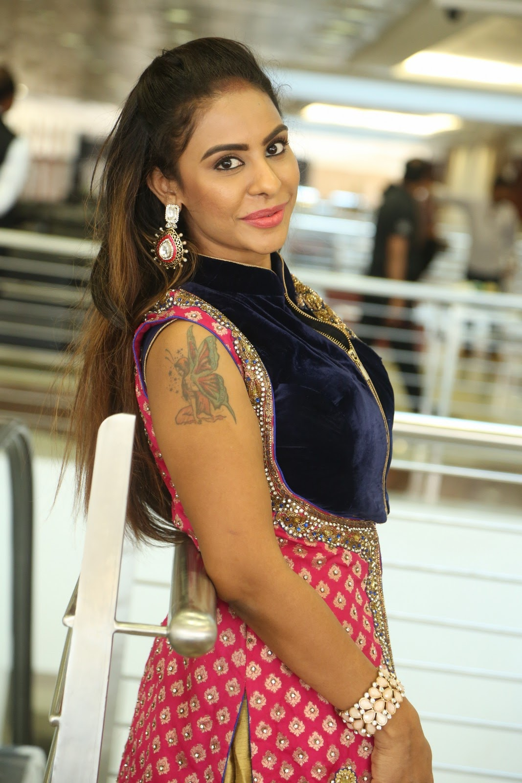 Srilekha reddy new glam photos-HQ-Photo-1