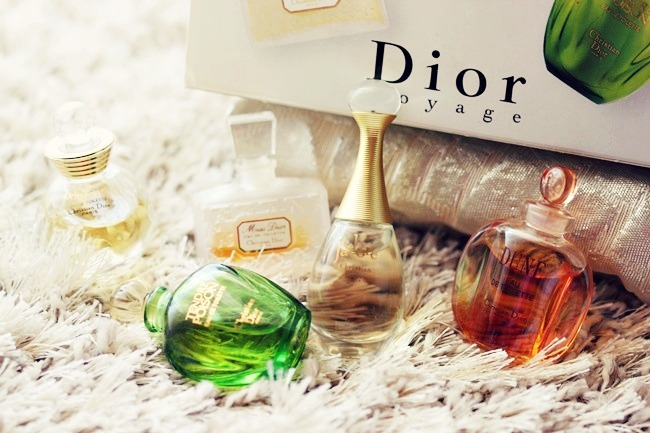 Dior voyage perfume travel set