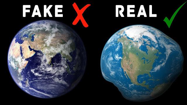 Novas alegações a respeito do formato da Terra