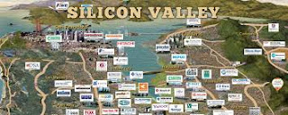 Silicon Valley maps