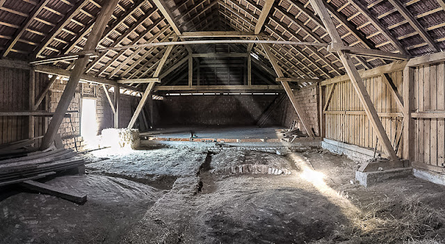 Dachboden vorher