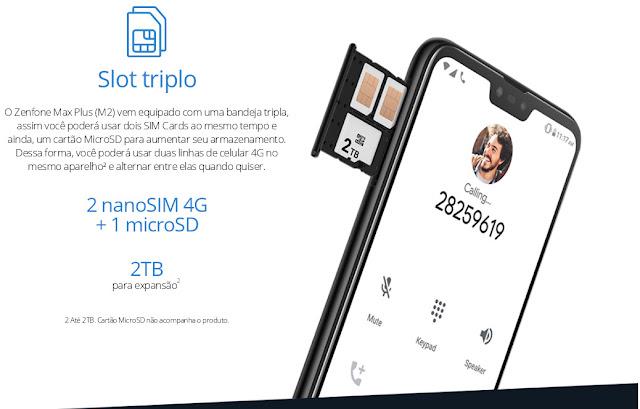 ASUS Zenfone Max Plus M2 Dual Chip