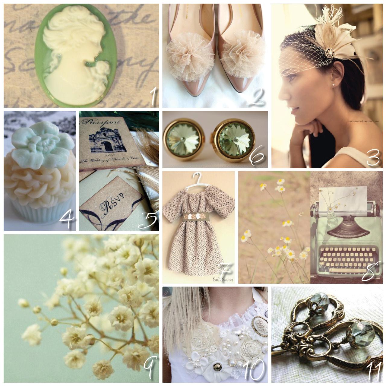 Seafoam Green Wedding Ideas: The Carolina Weddings: Wedding Colors