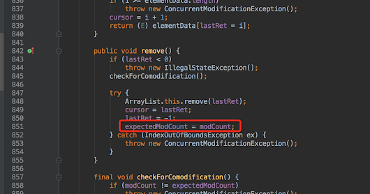How to deal with ConcurrentModificationException in Java? Beware while removing elements from ArrayList in loop