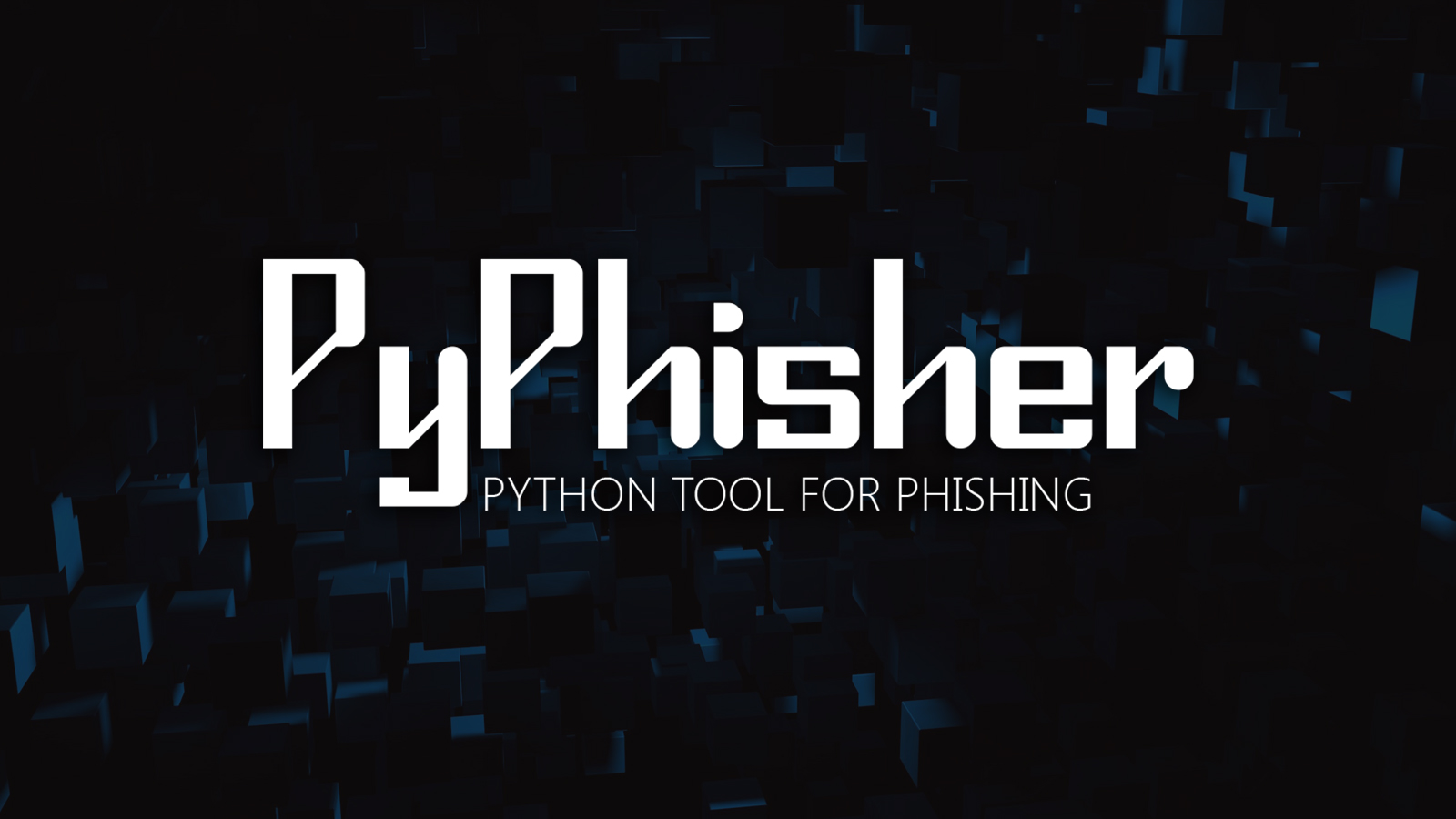 PyPhisher - Python Tool for Phishing