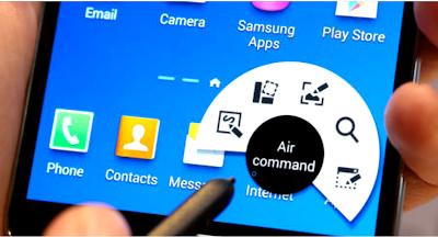 S Pen Features Command