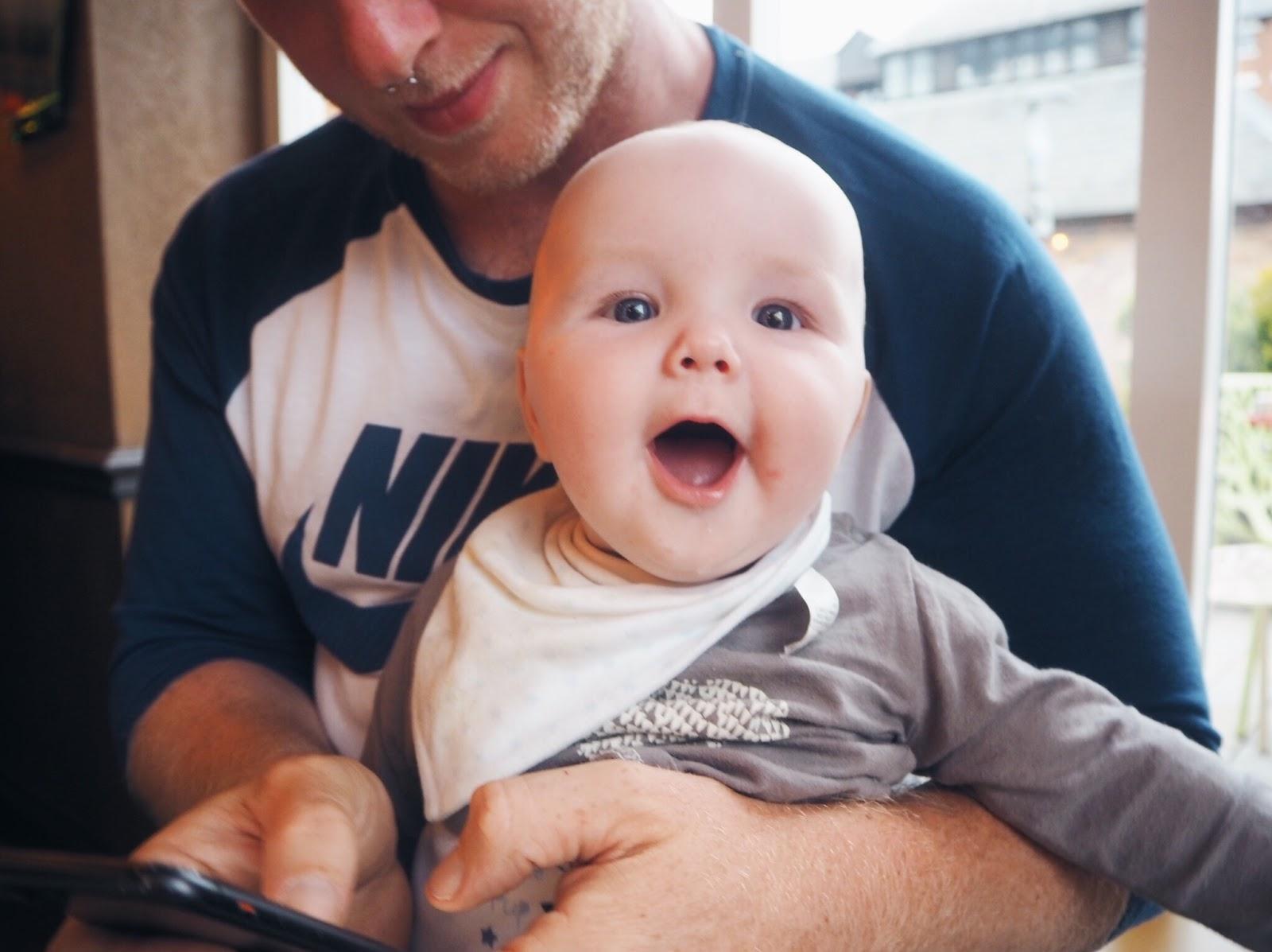 TYLER IS 5 MONTHS OLD | www.lovemaisie.com | Love, Maisie