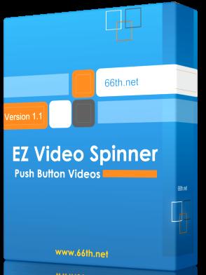 Video curso, ez video spinner, Cree videos de marketing en segundos.