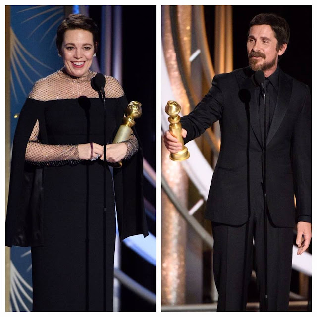 Golden Globe Awards 2019 Winners: The Complete List premiile globurile de aur 2019 lista castigatorilor golden globes awards 2019 winners Olivia Colman Christian Bale Golden Globes 2019 Golden Globe Awards 2019 Winners: The Complete List