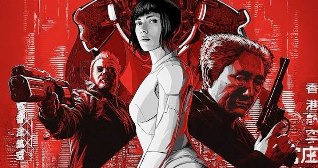 Scarlett Johansson protagoniza Ghost in the Shell