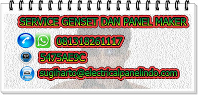 SERVICE GENSET DAN PANEL MAKER