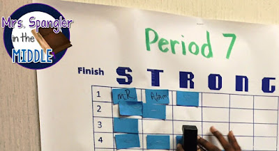 "Try ""Finish Strong"" bingo in your classroom to encourage good behaviour at the end of the year."