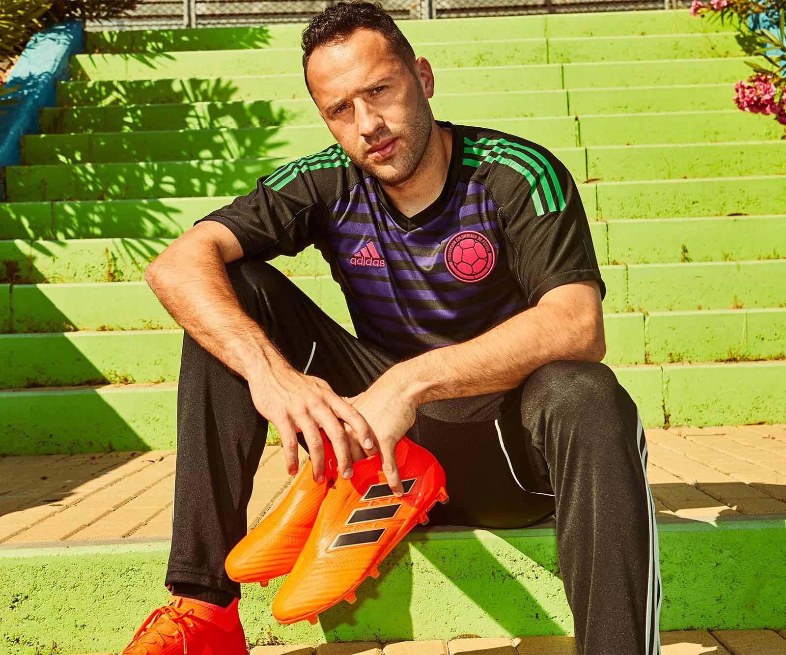 Colombia 2018 Goalkeeper Kit Released Footy Headlines