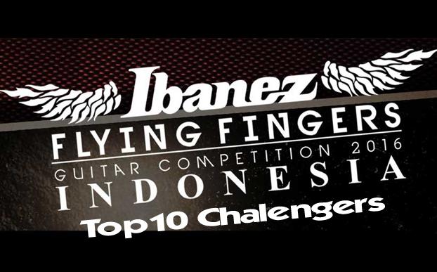 Inilah Daftar Top 10 Challengers IBANEZ FLYING FINGERS 2016
