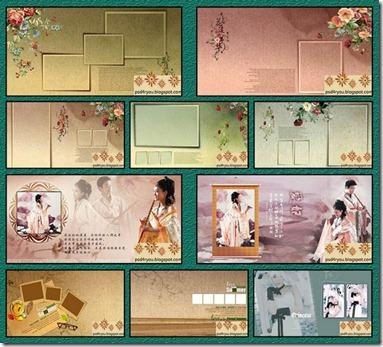 Photo Album Design Psd Templates 12x30 - StudioPk