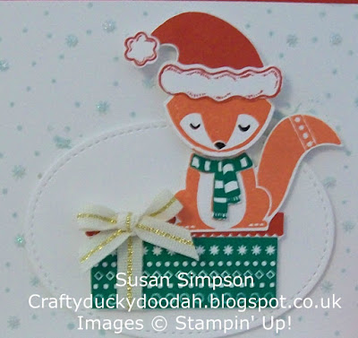 Stampin' Up! UK Independent Demonstrator Susan Simpson, Craftyduckydoodah!, Cozy Critters, Christmas Pines, Jolly Friends Bundle, Supplies available 24/7,