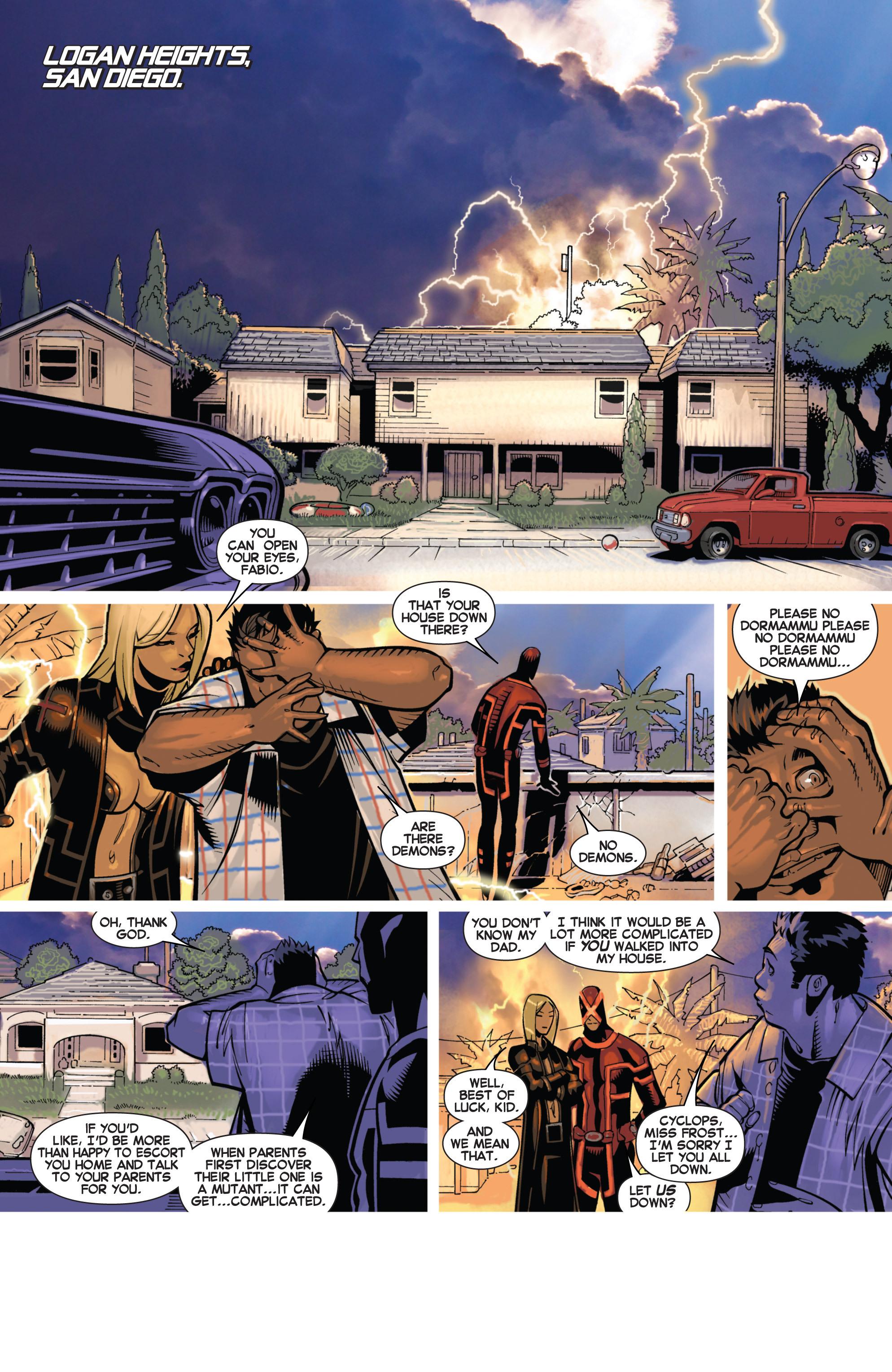 Read online Uncanny X-Men (2013) comic -  Issue # _TPB 2 - Broken - 42