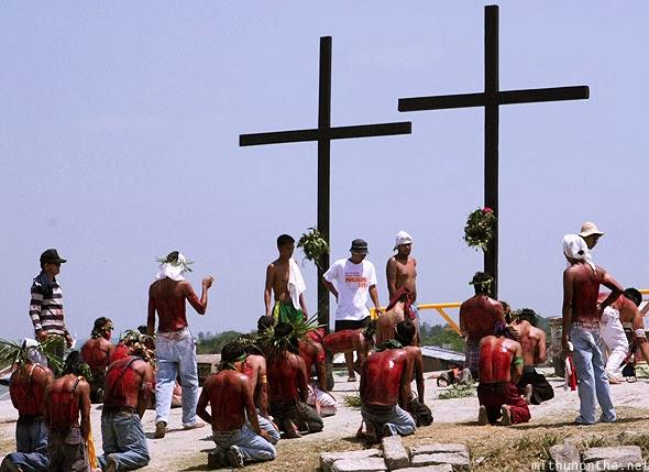 Cutud,San Fernando, Pampanga,Holy Week
