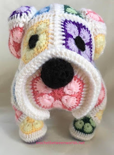 Free Pattern For Crochet Bulldog : Crochet between worlds: February 2016