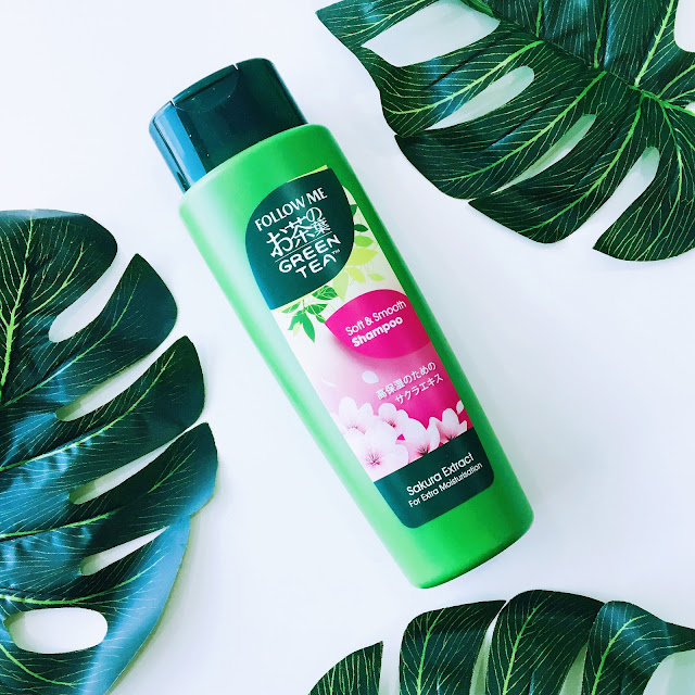 Follow Me Green Tea Shampoo Soft and Smooth with Sakura Extract Review