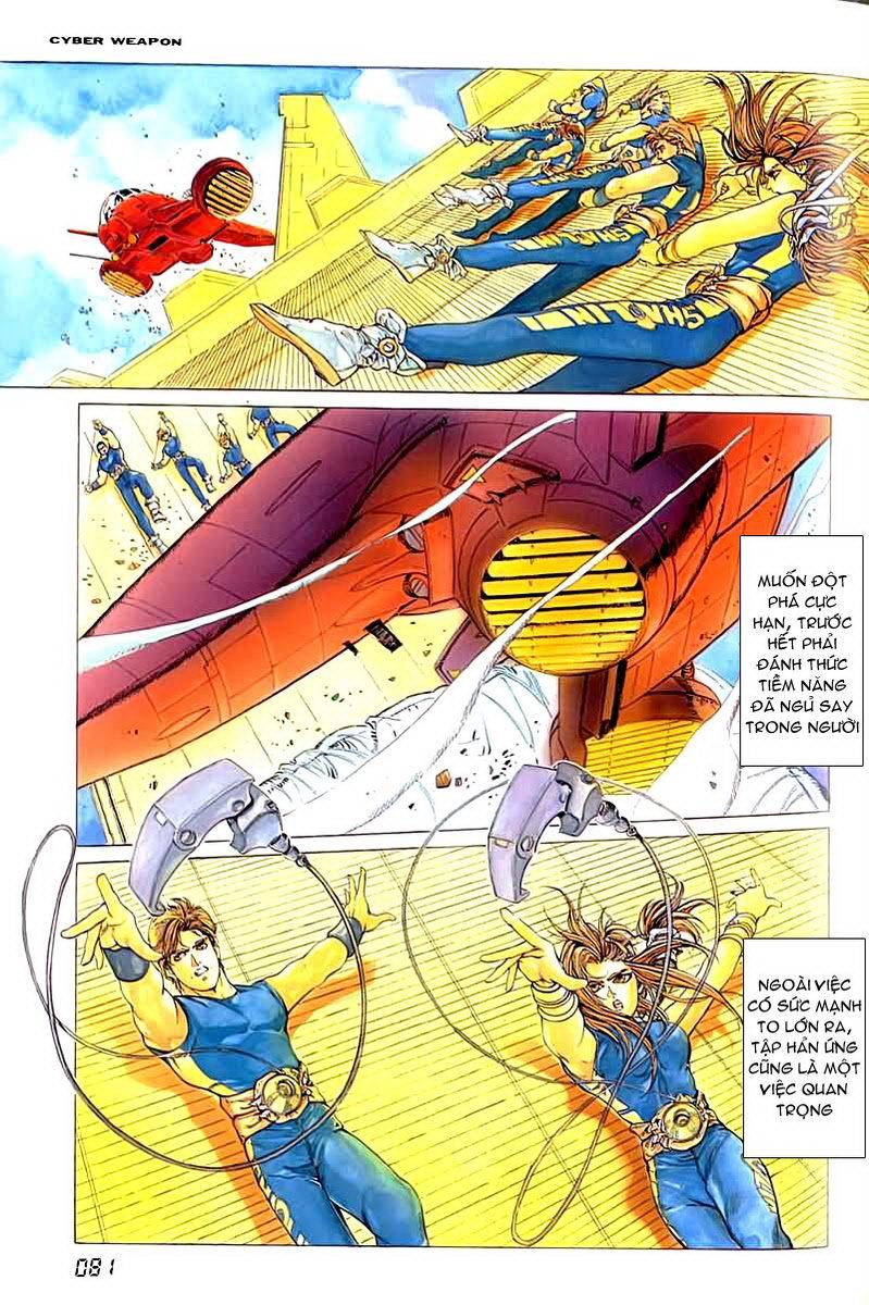 Cyber Weapon Z - Siêu Thần Z chap 2 - Trang 19