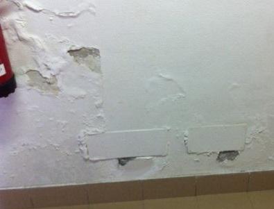 Eliminare umidit casa boiserie in ceramica per bagno - Come togliere l umidita in casa ...
