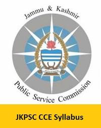 JKPSC CCE Syllabus
