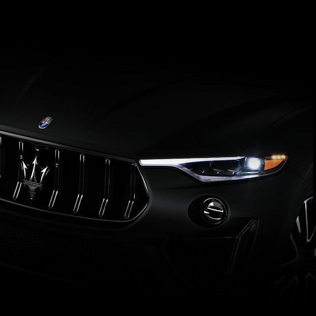 Maserati divulga teaser do novo Levante GTS
