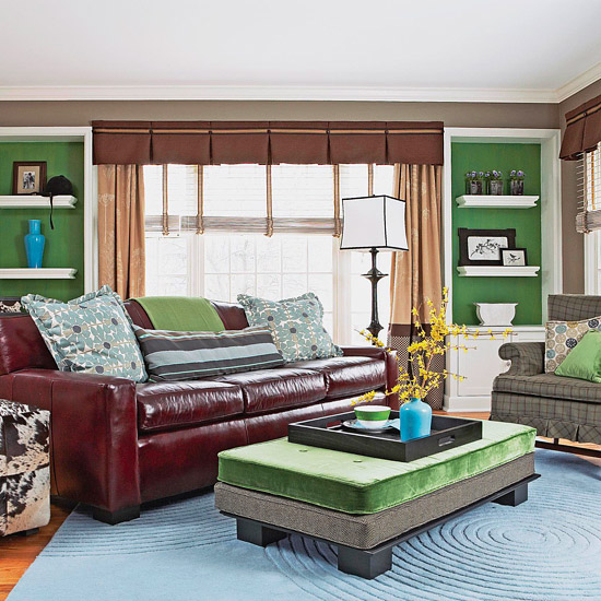 Fresh Living Rooms Decorating Ideas 2011 For Summer