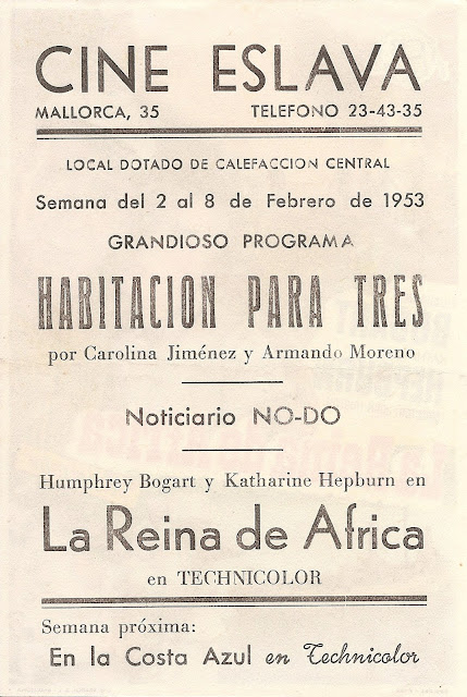 Programa de Cine - La Reina de Africa - Humphrey Bogart - Katharine Hepburn
