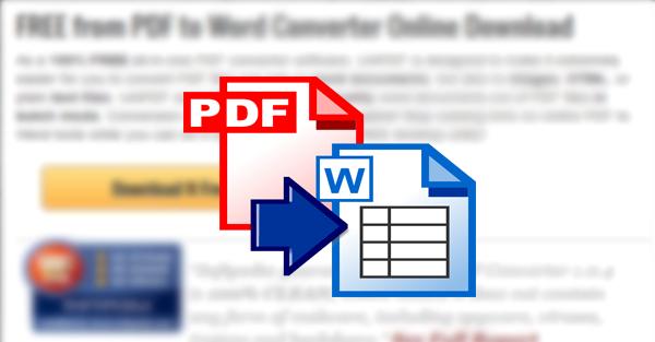 أفضل طريقة مجانية لتحويل أي ملف PDF إلى Word و العكس بدون انترنت !!