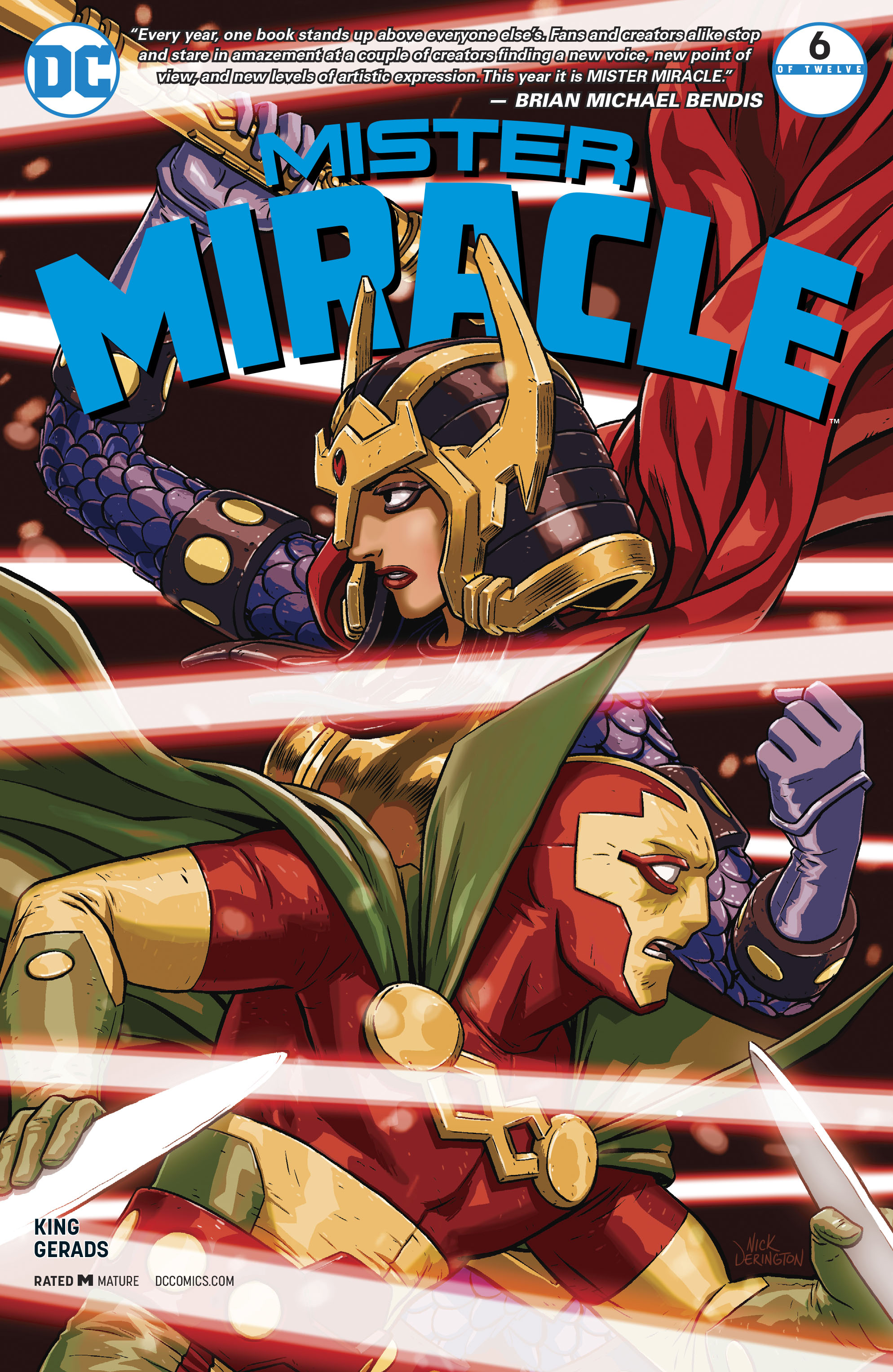 Mister Miracle (2017) 6 Page 1