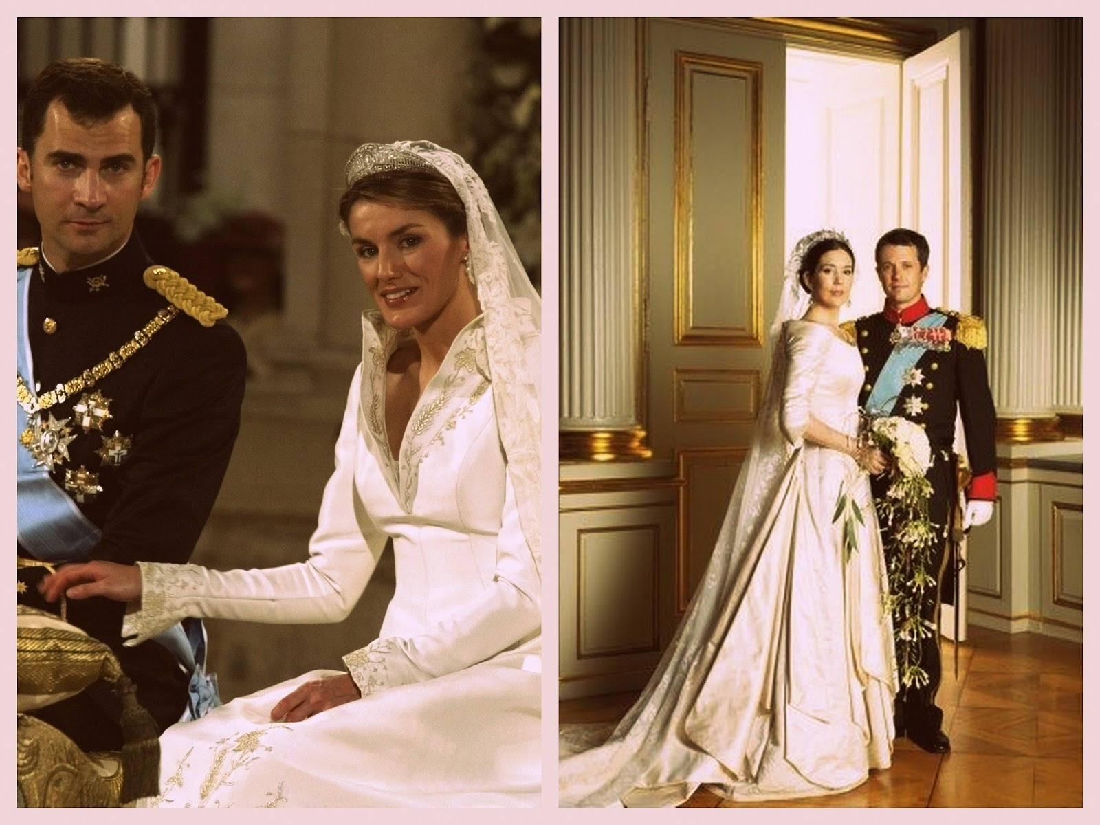 Queens Of England Mary And Letizia Royal Wedding Throwback