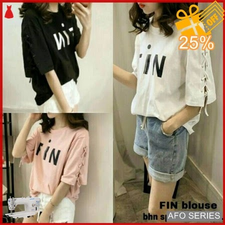 AFO127 Model Fashion Fin Blouse Modis Murah BMGShop