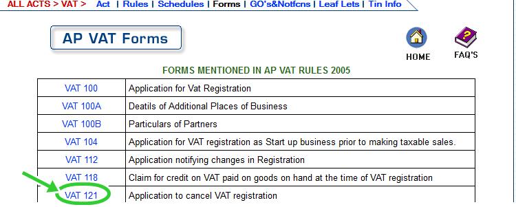 Download Application of a VAT Dealer for payment of Amount
