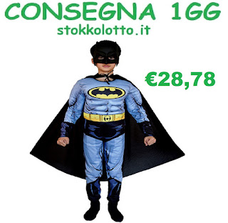 costume maschera travestimento con muscoli personaggio batman super eroi Marvel Avengers Justice League