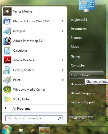Fungsi Control Panel Pada Windows 7 : fungsi, control, panel, windows, Setting, Address, Windows, Seven, Tutorial, Komputer
